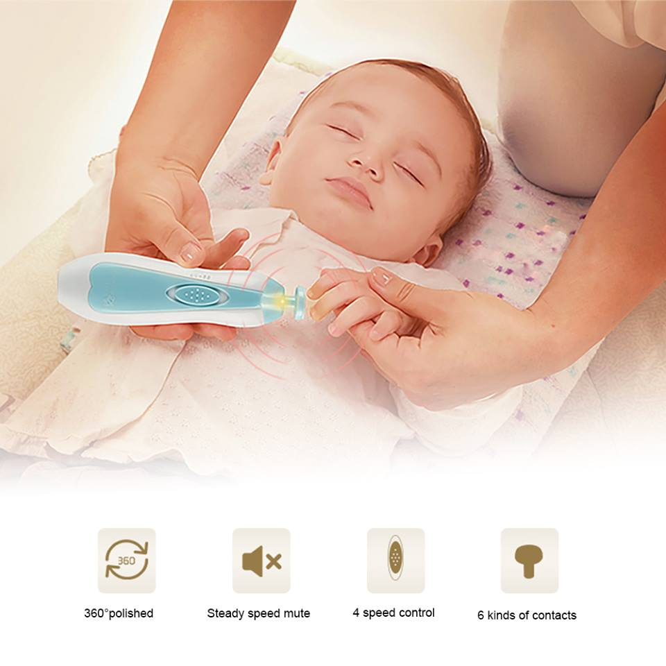 Electric Safe Nail Clipper Cutter Baby The Best Baby