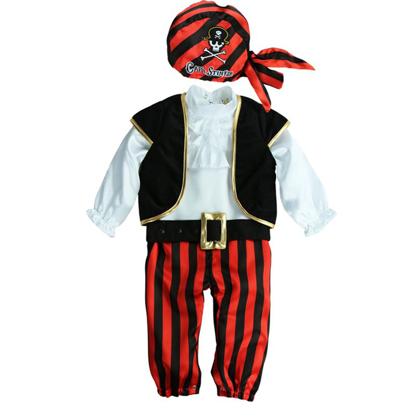 Baby Rompers Newborn Bebe Clothes Funny Animal Pirate