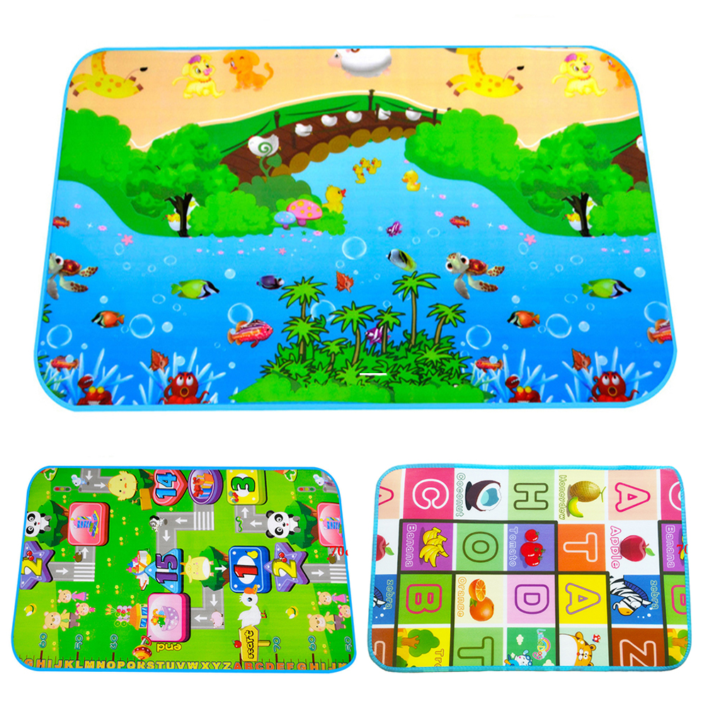 110*70cm Baby Play Mat Child Beach Mats Picnic Carpet Baby