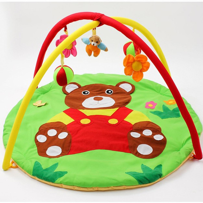 Cartoon Soft Baby Play Mat Kids Rug Floor Mat Boy Girl
