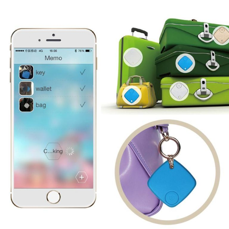 Hot Smart GPS Locator Alarm Tag Bluetooth Tracker Bag Wallet Key Tracer  Finder